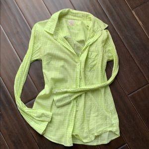 Gently worn! J.Crew perfect shirt xxs